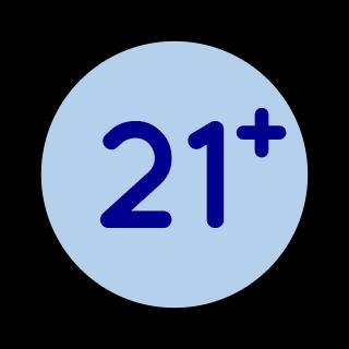 Edad mínima 21 años