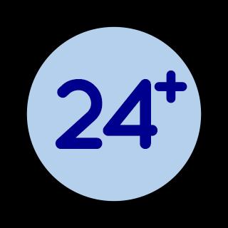 Edad mínima 24 años